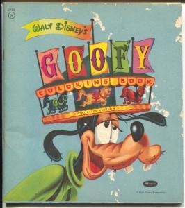 Goofy Coloring Book-Walt Disney #2952-Whitman-unused-VG-