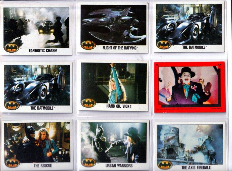 Topps Tim Burton's Batman Trading Cards