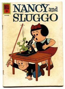 Nancy and Sluggo #185 1961- PEANUTS- Dell Comics