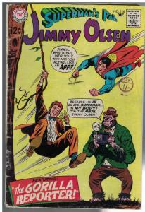 JIMMY OLSEN 116 GD-  Dec. 1968