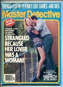 MASTER DETECTIVE-04/1982-KINKY-LOVE GAMES-STRANGLED-SLAUGHTER-SLAIN G/VG