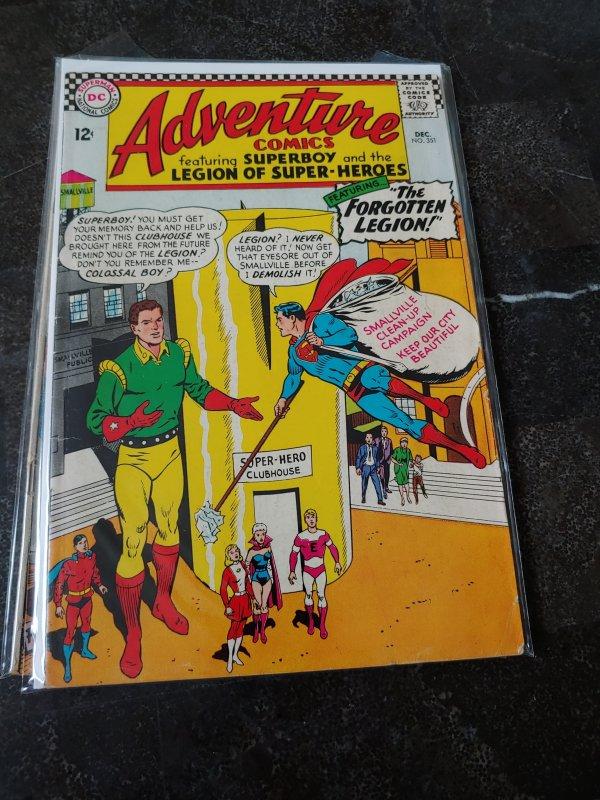 Adventure Comics #351 (1966)