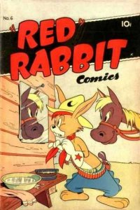Red Rabbit Comics #6, Good+ (Stock photo)