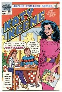 Katy Keene #9 1985- Archie Romance comic VF/NM