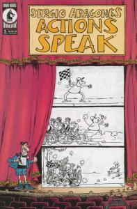 Actions Speak (Sergio Aragonés…) #5 VF/NM; Dark Horse | save on shipping - detai