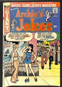 Archie Giant Series Magazine #222 (1974)