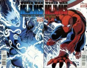 WORLD WAR HULKS SPIDERMAN VS THOR (2010) 1-2