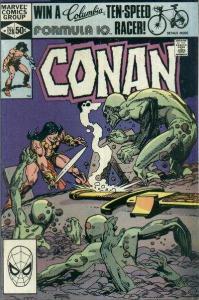 Conan the Barbarian (1970 series) #128, Fine (Stock photo)