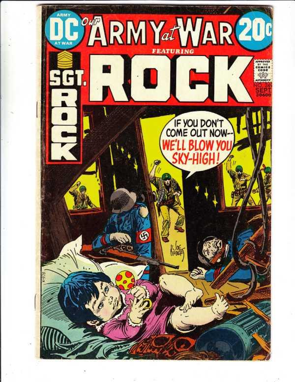 Our Army at War #249 (Sep-72) FN Mid-Grade Sgt. Rock, Easy Co.