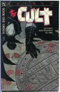 BATMAN The CULT #1 2 3 4, NM, Bernie Wrightson, Jim Stalin,1988, 4 issues, 1-4