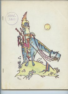 APA-L #520 – Fanzine from the Los Angeles Science Fantasy Society (May 1975)