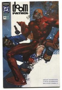 DOOM PATROL #45 comic book  1991 1st Beard Hunter