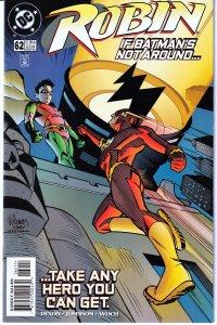 Robin(vol. 1) # # 61,62,63 64,67-68 The Flash,Riddler, Superman,No Man's Land