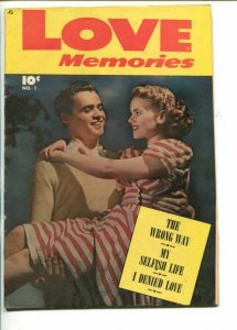 LOVE MEMORIES #1-1949-SODA SHOP STORY-SOUTHERN STATES-fn+