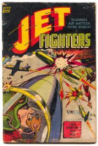 JET FIGHTERS #7-ALEX TOTH ART-KOREAN WAR STORIES-1953 G/VG