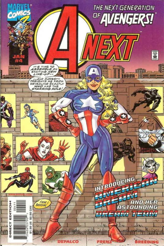 A-Next #4 VF/NM Marvel - save on shipping - details inside