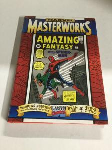 Marvel Masterworks Amazing Spider-Man Volume 1 Nm Near Mint Marvel Comics HC TPB