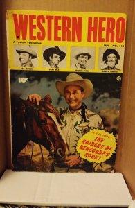 Western Hero #110 (1952)