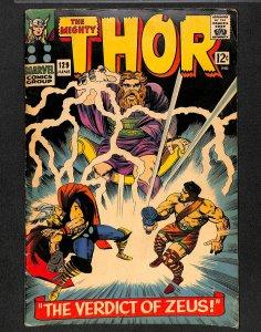 Thor #129 VG/FN 5.0 Zeus Hercules!