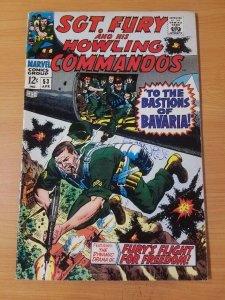 Sgt. Fury #53 ~ FINE - VERY FINE VF ~ (1968, Marvel Comics)