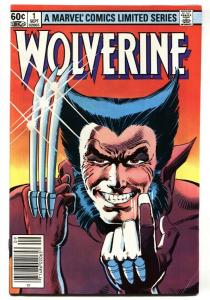 Wolverine Limited Series #1  Marvel-First Issue 1982 Frank Miller vf-