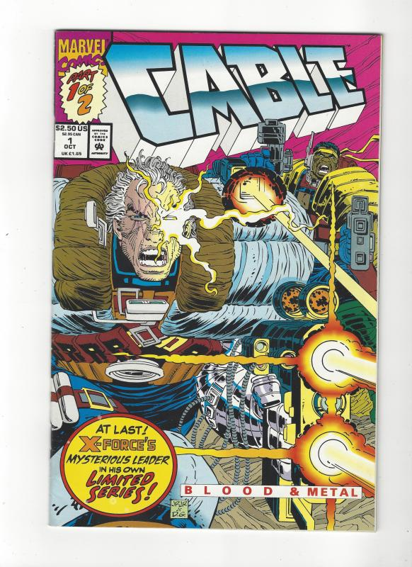 CABLE:BLOOD AND METAL #1 SET (NM) MARVEL COMICS