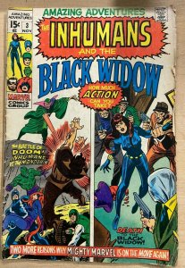 AMAZING ADVENTURES #3 (Marvel,11/1970)VERY GOOD MINUS(VG-)Black Widow 1st Ivan