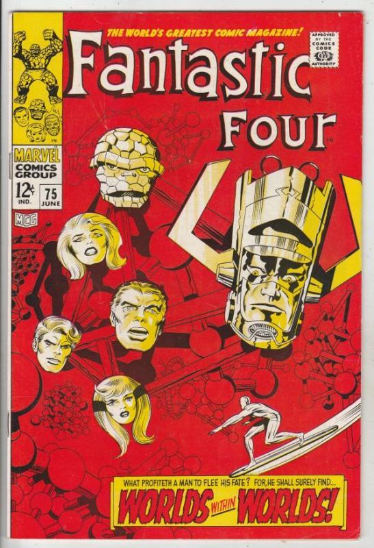 Fantastic Four #75 (Jun-68) VF/NM High-Grade Fantastic Four, Mr. Fantastic (R...