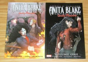 Anita Blake Vampire Hunter: Guilty Pleasures TPB 1-2 VF/NM complete series