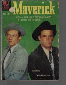 Maverick #11 (Dell, 1960) GD/VG