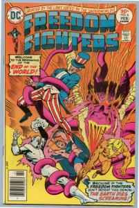 Freedom Fighters 6 Feb 1977 VF- (7.5)
