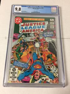 Justice League Of America 201 Cgc 9.8 White Pages