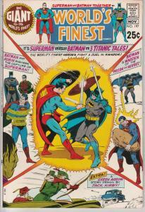 World's Finest #197 (Nov-70) VF+ High-Grade Superman, Batman, Robin
