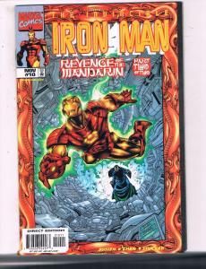 The Invincible Iron Man #10 VF Marvel Comics Comic Book Busiek 1998 DE16