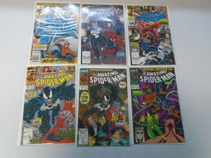 Amazing Spider-Man lot 18 different from #329-350 avg 8.0 VG (1990-91)