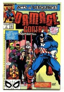 Damage Control #1 1989 comic book Marvel - Captain America NM-