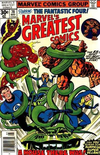 Marvel's Greatest Comics #70, VF+ (Stock photo)