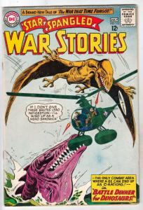 Star Spangled War Stories #115 (Jul-64) FN/VF+ High-Grade War That Time Forgo...