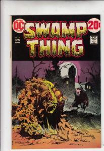 Swamp Thing #4 (May-73) NM Super-High-Grade Swamp Thing