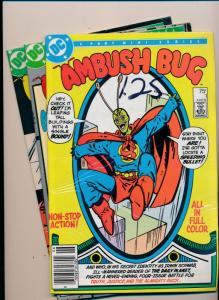 DC Comics MIXED LOT AMBUSH BUG #1,#3,#4 FINE/VERY FINE (HX767)