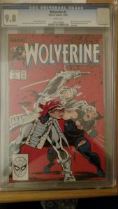 Wolverine #2 (Dec 1988, Marvel) CGC 9.8
