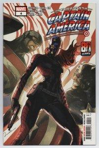 United States Of Captain America #4 Main Cvr (Marvel, 2021) NM