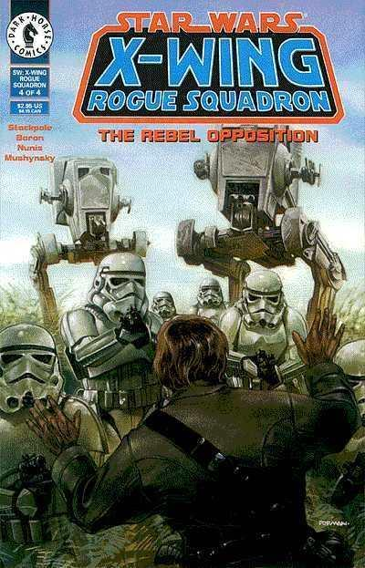 Star Wars: X-Wing Rogue Squadron #4, NM (Stock photo)