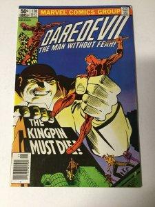 Daredevil 170 Vf/Fn Very Fine/Near Mint 9.0 Marvel