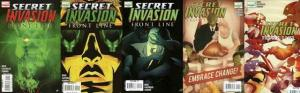 SECRET INVASION FRONTLINE (2008) 1-5  COMPLETE! COMICS BOOK