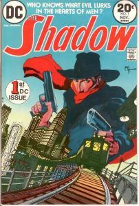 SHADOW (1973) 1 VG-F  (KALUTA )Nov. 1973 COMICS BOOK