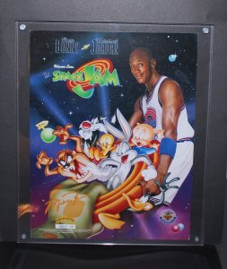 Michael Jordan Space Jam Upperdeck Limited Edition Print MINT 1996