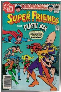 SUPER FRIENDS (1976-1981) 36 VG Sept. 1980