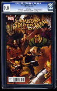 Amazing Spider-Man #643 CGC NM/M 9.8 White Pages Marvel Comics Spiderman