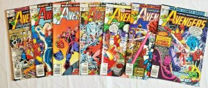 Avengers 1978 #168,169,170,171,172,173,174  LOT price on all 7  VF/NM